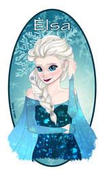 Elsa - Frozen by JackyGrimm
