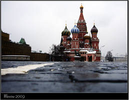 Gloomy Moscow: St Basil by vlad-m