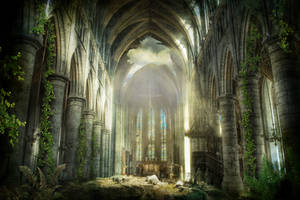 Postapocaliptic cathedral