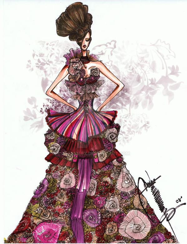 Rosavoila Haute Couture 2008 by AlexioLex
