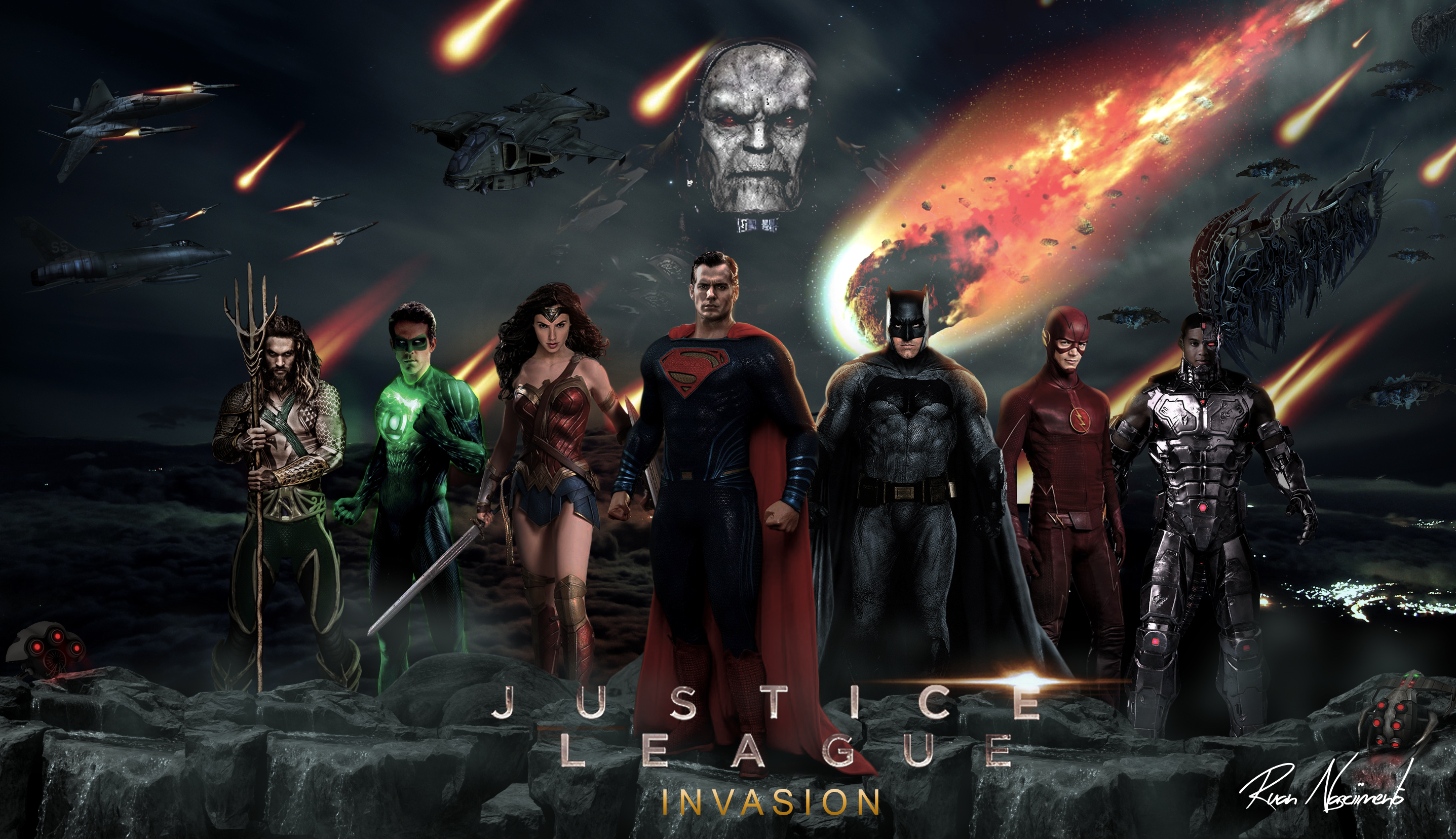 justice league by ruan...