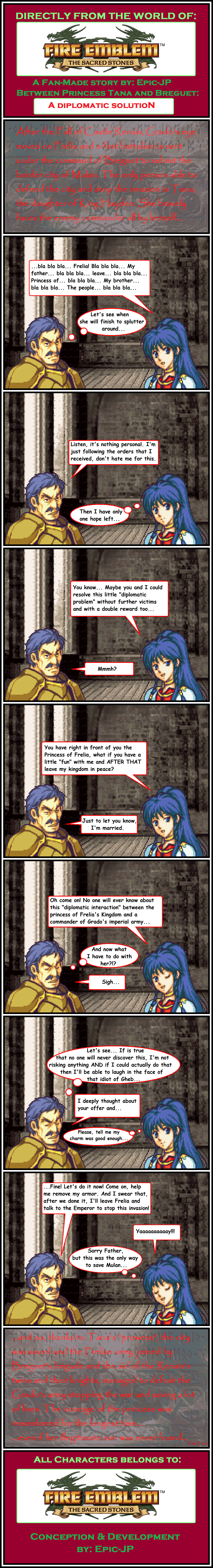 Fire Emblemthe Sacred Stones Tana And Breguet By Epic Jp On Deviantart