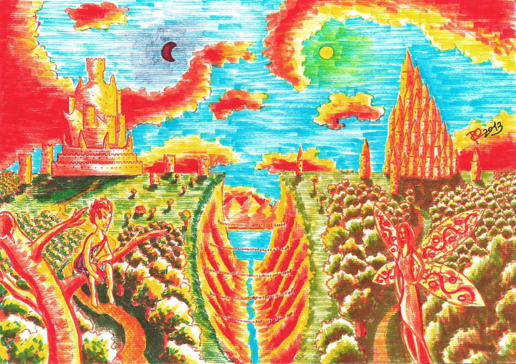 Mythic fairytale by roxy932211