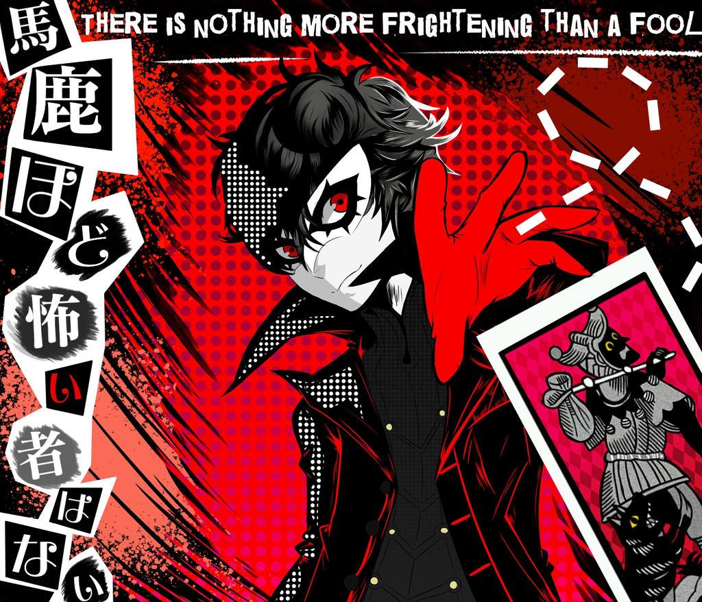 Ren Amamiya Joker By Zoink Ers On Deviantart