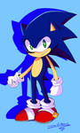 Lil' Picture of Sonic