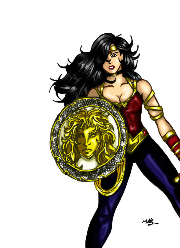 Wonder Woman new costume by MikeLynn on DeviantArt