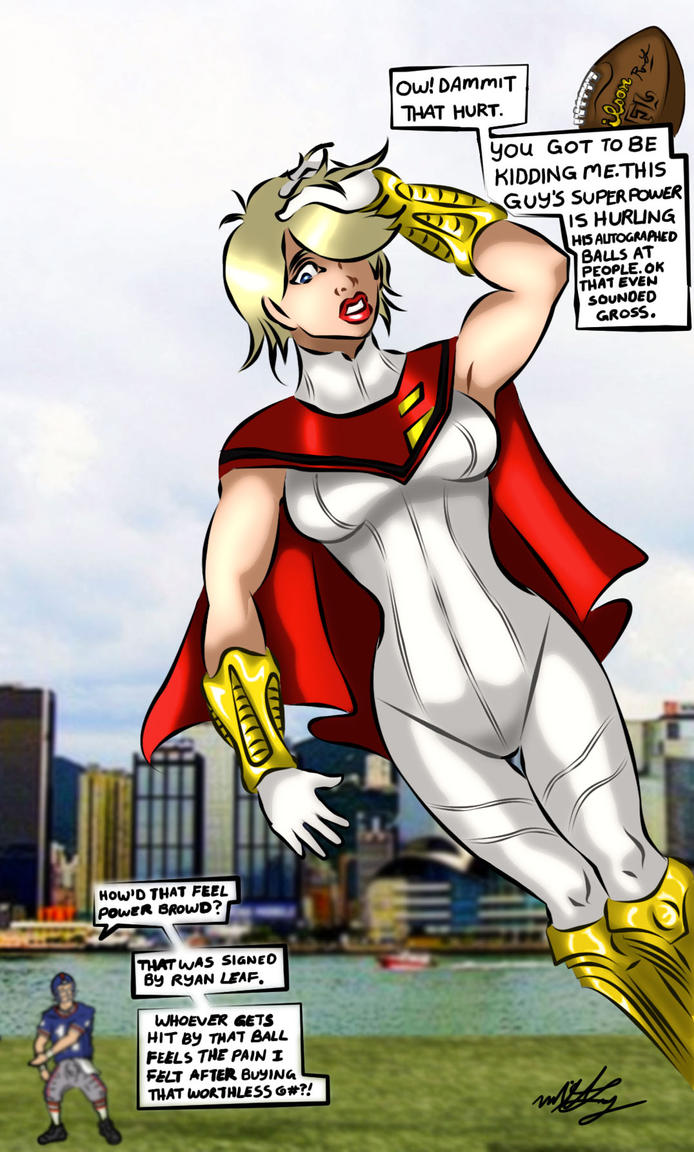 DC New 52 Power Girl by MikeLynn on DeviantArt