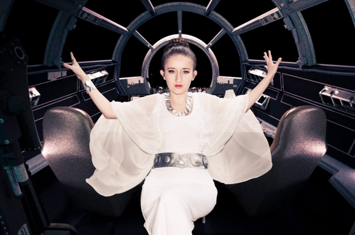 Princess Leia Organa Ceremonial Gown by AndreaArtavia on DeviantArt