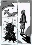 School work - Comic Page