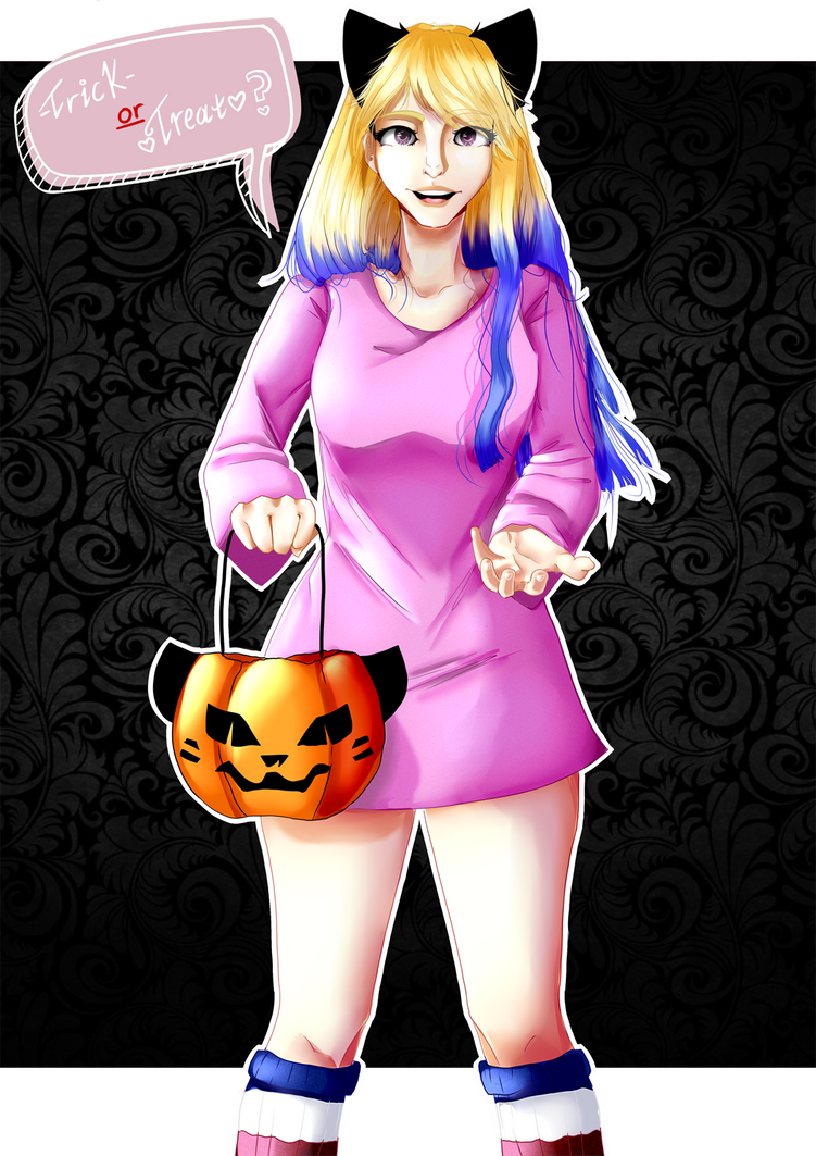 [REQUEST][GIFT] Trick or Treat? by missAnna56
