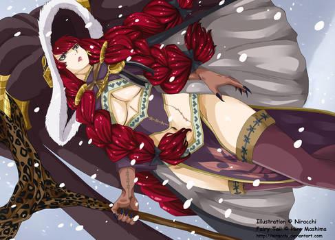 Fairy Tail Manga 483: Eileen Belserion