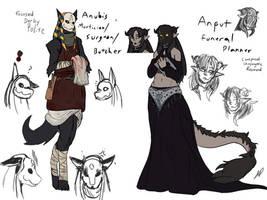Helian Anubis and Anput