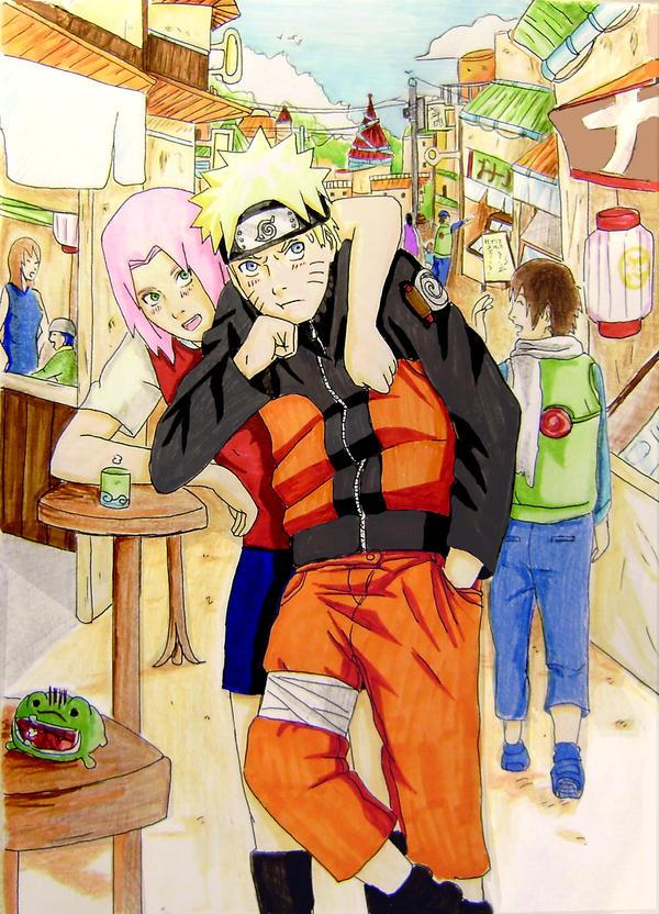 naruto and sakura dating fanfic