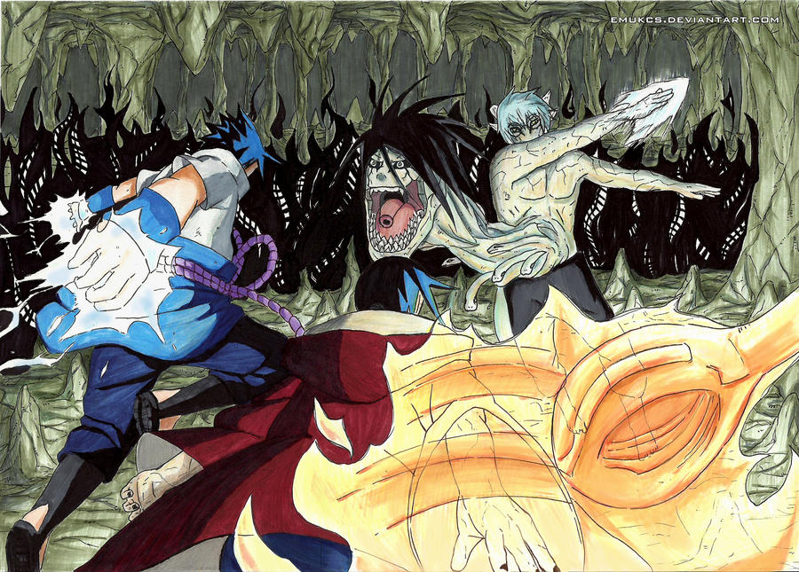 Sasuke And Itachi Vs Kabuto Oh yeah, he knows about