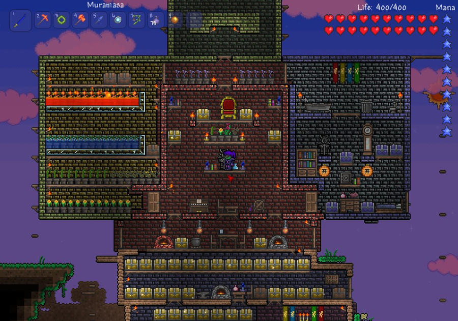 Terraria house by daydallas on deviantart terraria house by daydallas malvernweather Gallery