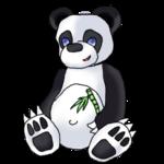 Panda Feliz by Daydallas