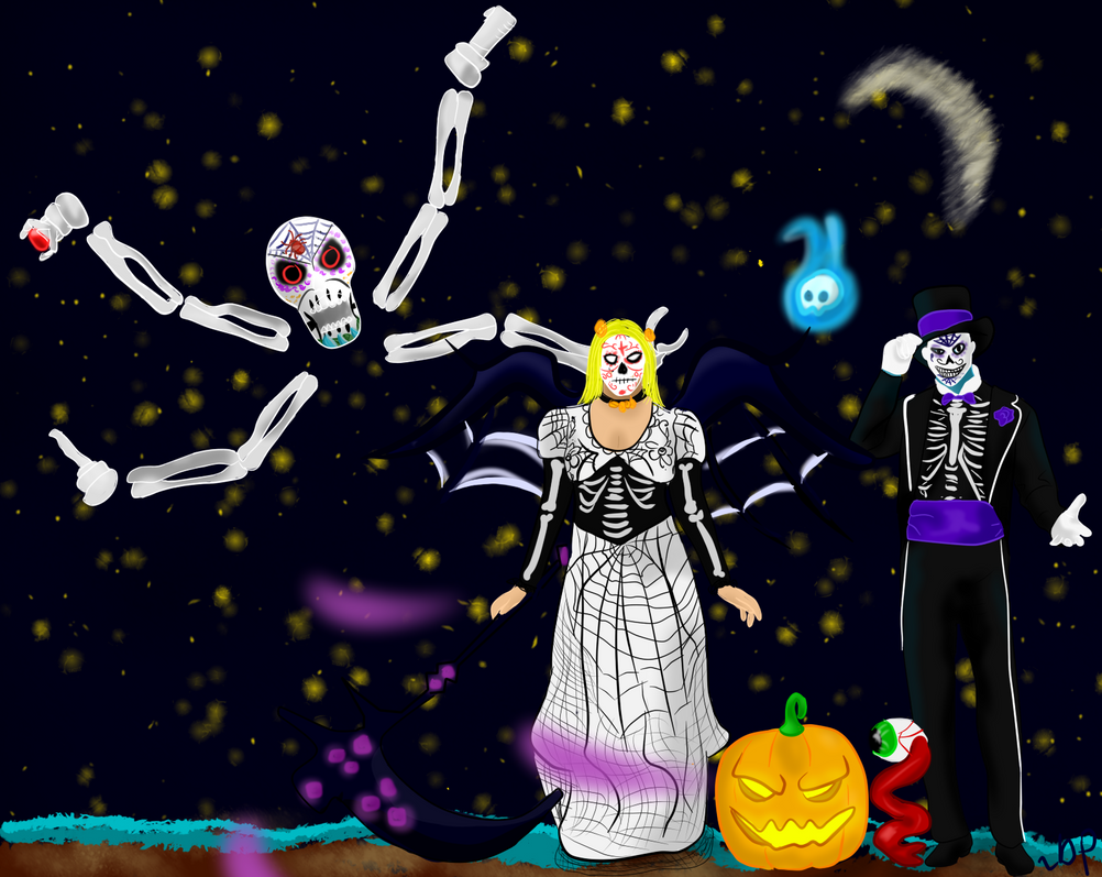 Terraria Day of the dead Halloween celabration by Daydallas on ...