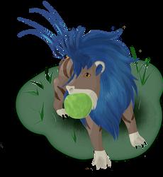 Who's a good lil blue boi by Daydallas