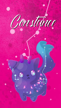 Void Cat- Huevember Day 11- Constance