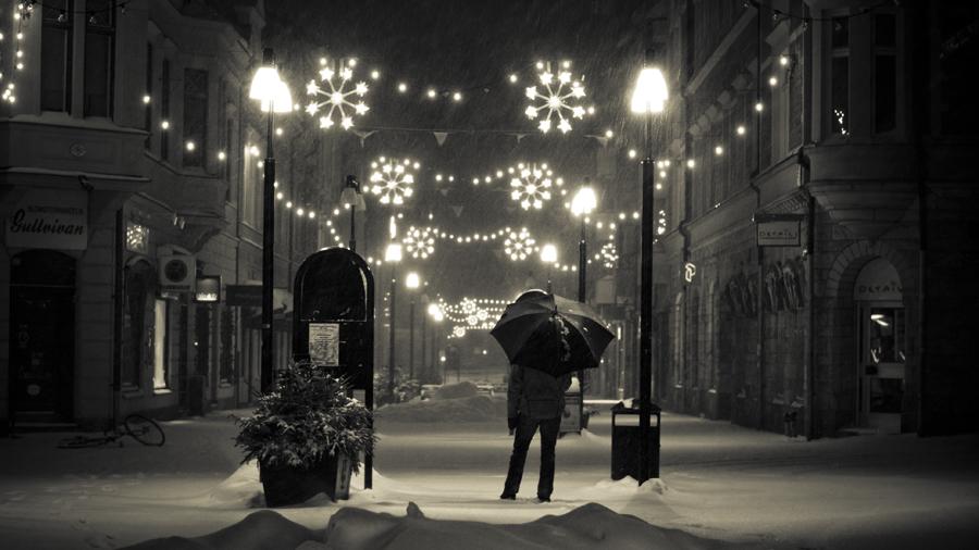 Snowfall series I by Deemax