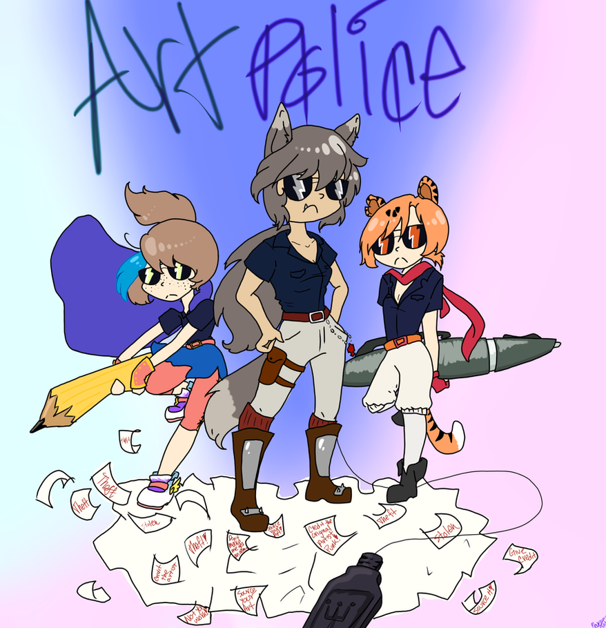 Art Police .:rwby ocs:. by Fatekind