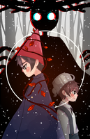 Over the Garden Wall by BottleWonderland