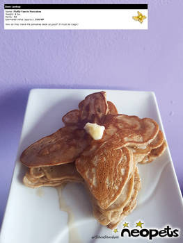 Neopets Fluffy Faerie Pancakes