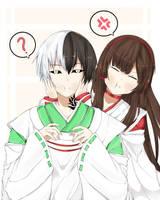 kawaii couple by Ikumireii