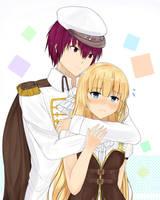 couple anime by Ikumireii