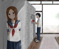 karakai jouzu no takagi-san by Ikumireii