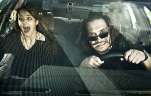 In da car by Grinch7