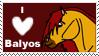I Love Balyos Stamp by Misaki-Fain