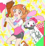 Onegai My Melody (Anime)xSplatoon 2