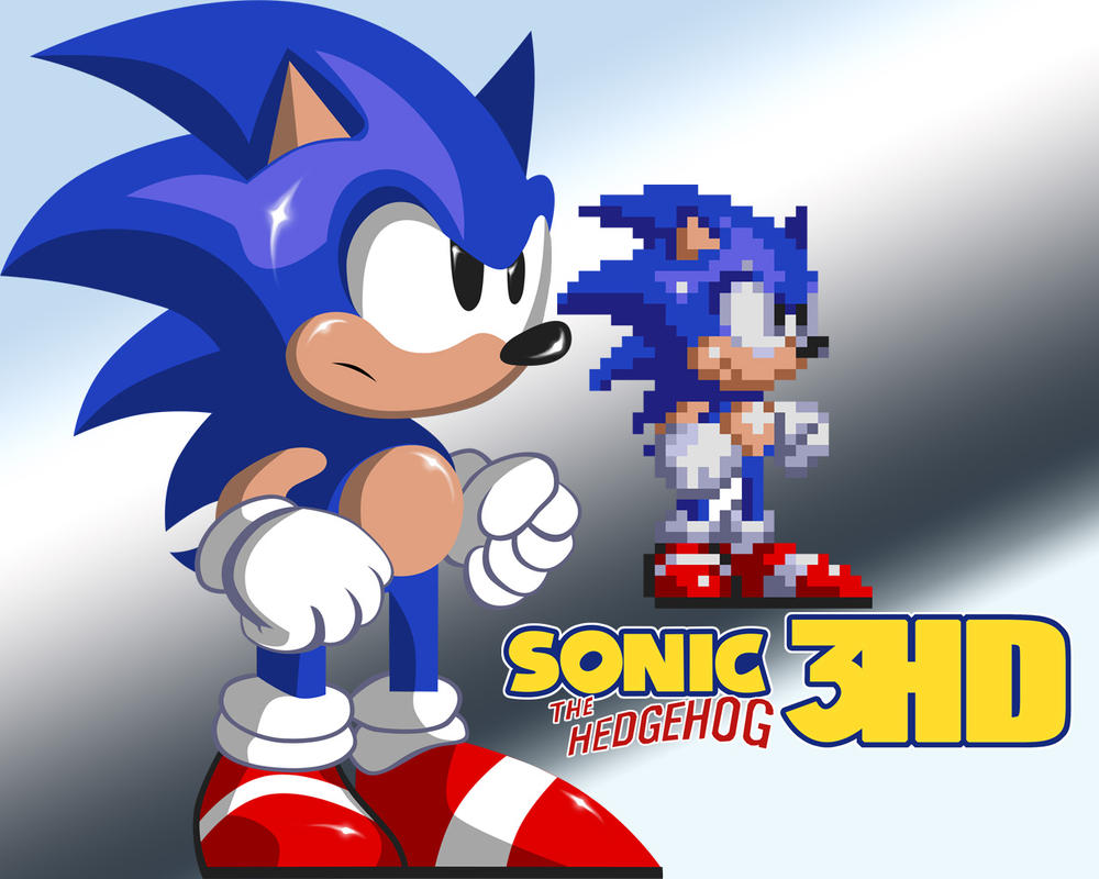 sonic 3 hd by newerausher on deviantart. Black Bedroom Furniture Sets. Home Design Ideas