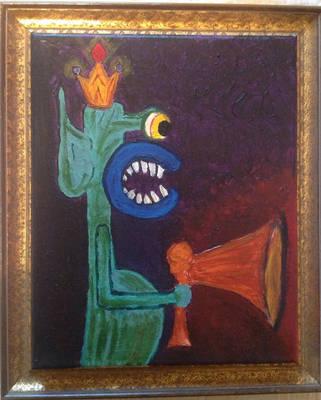 The Termite King, Framed by Ruprecht-Tehbunee