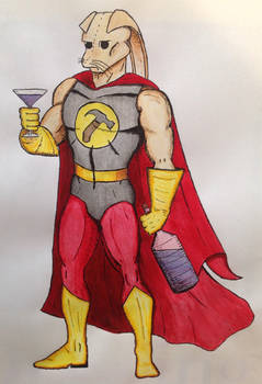 Drinking grants me superpowers!