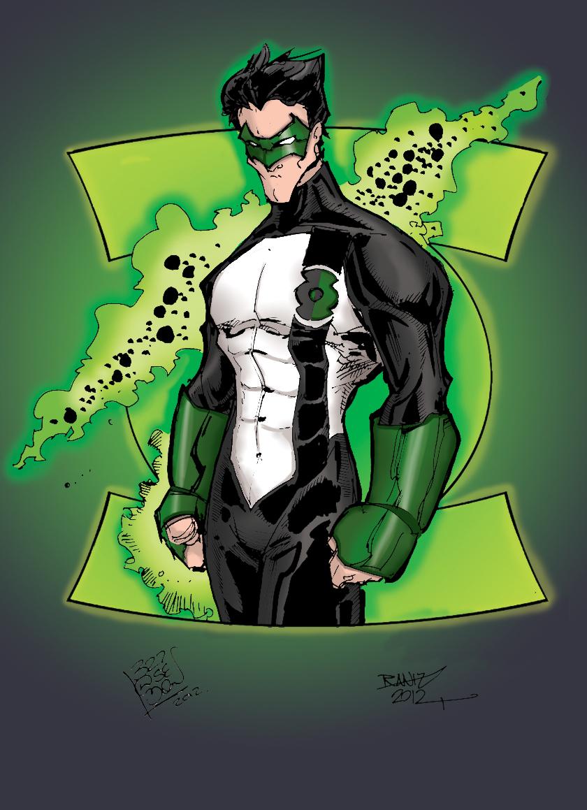 Green Lantern - Kyle Rayner by LloydBridgeman