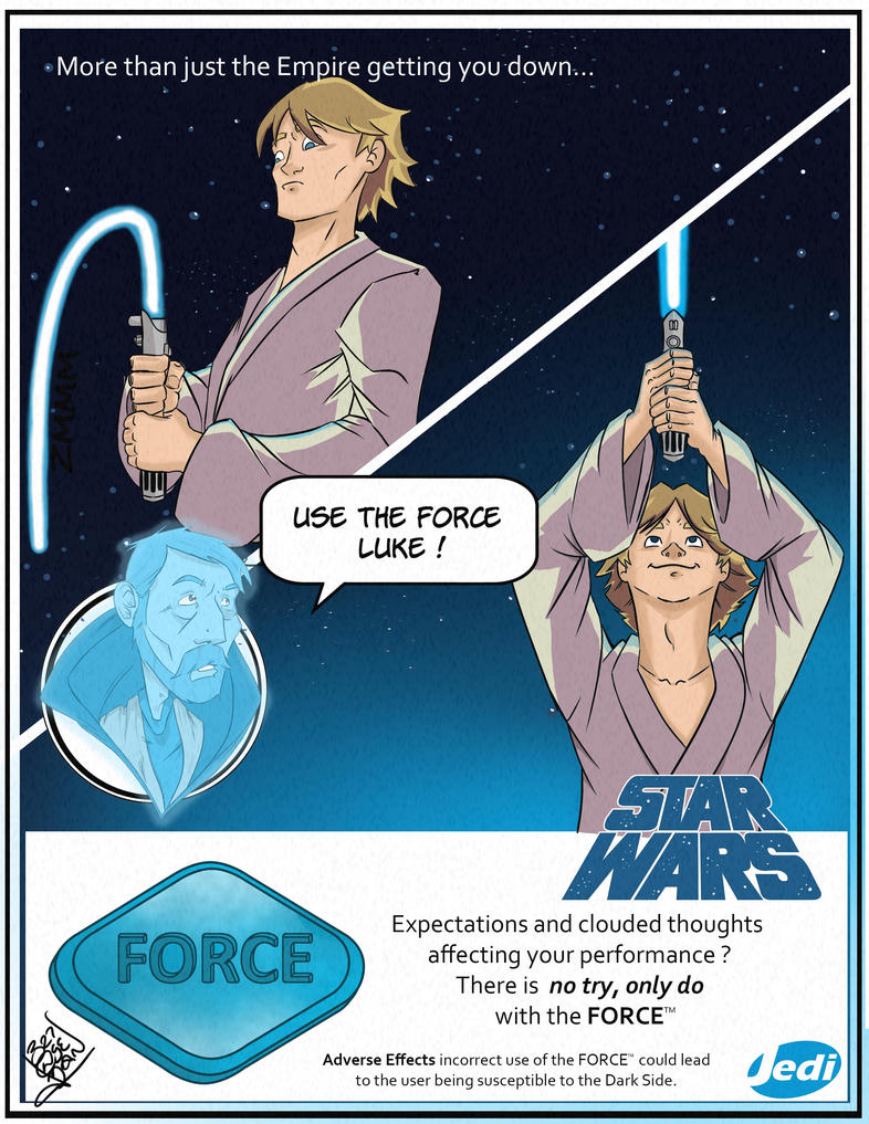 Use the Force Luke by LloydBridgeman