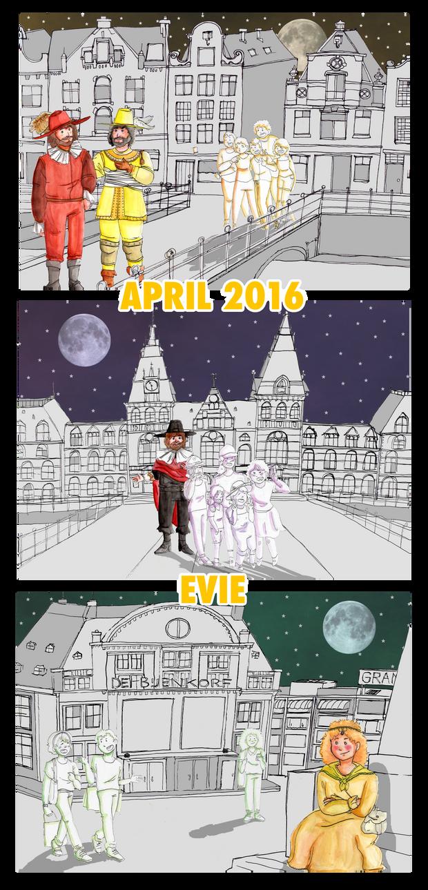 De Stad, de Nachtwacht by EVIE128