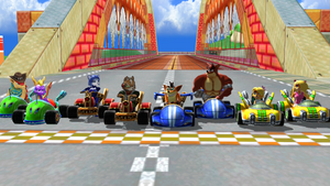 The Race by Krashban2010