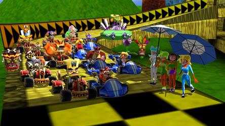 Crash Team Racing by Krashban2010