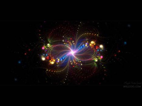 Fractal art Angelic Vortex