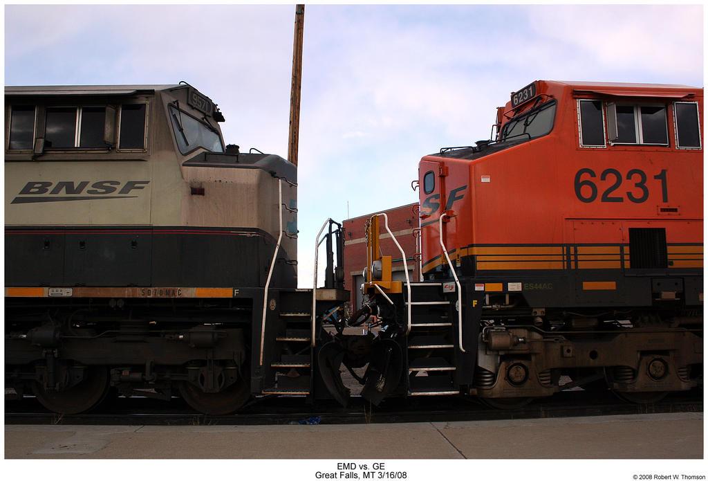 EMD vs. GE by hunter1828