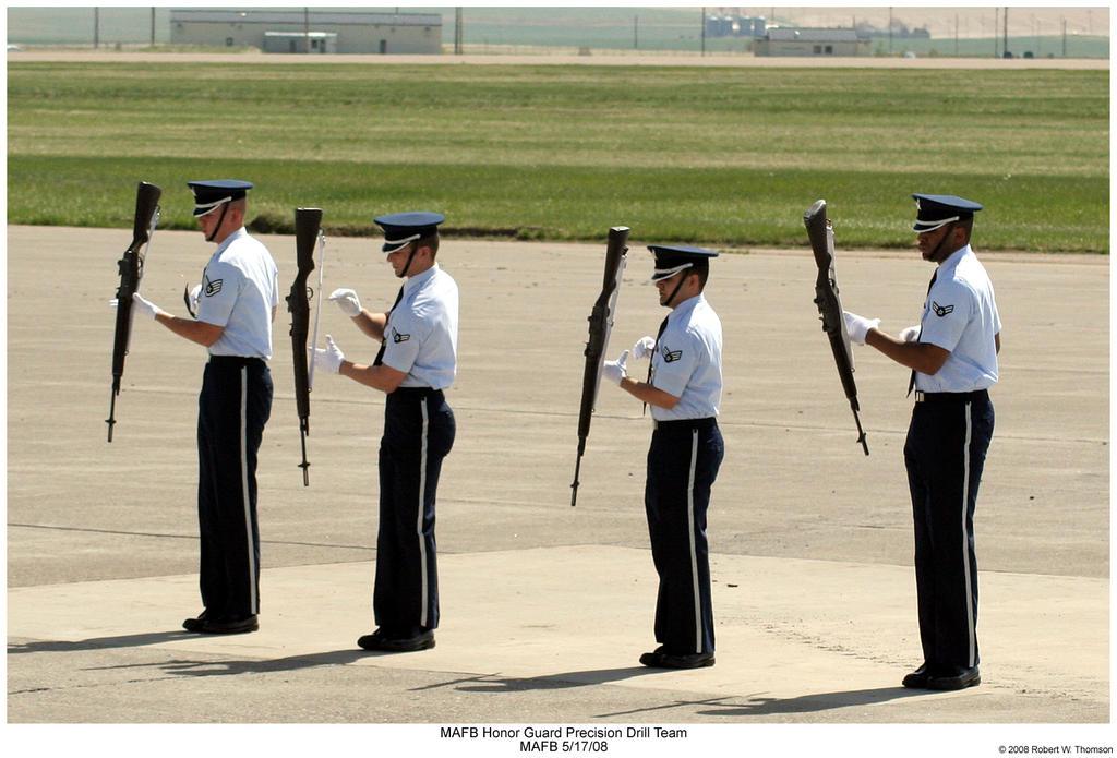MAFB Honor Guard Drill Team by hunter1828