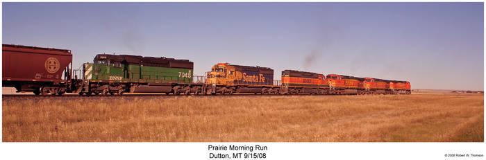 Prairie Morning Run by hunter1828