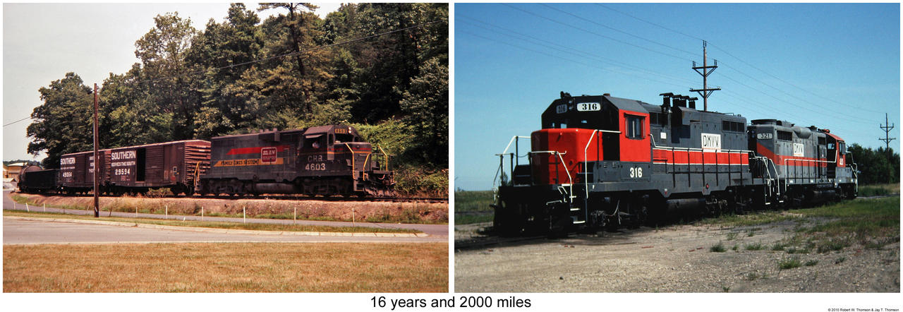 clinchfield chat 11)passing through wakenva, va, along the former clinchfield railroad   historian, author and long time friend ray poteat stopped to chat with yours truly.