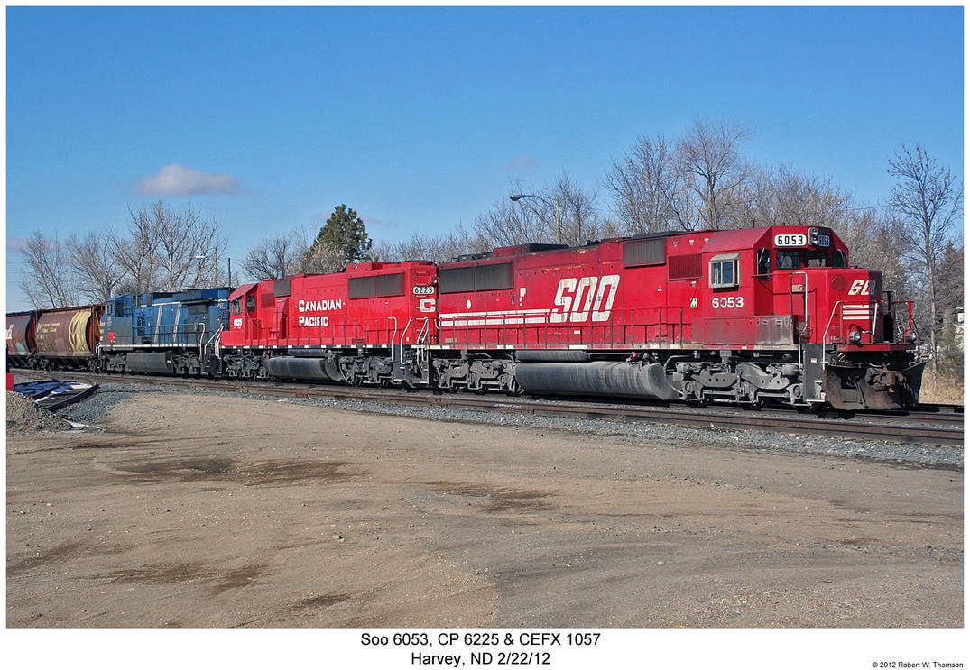 Soo 6053, CP 6225 + CEFX 1057 by hunter1828