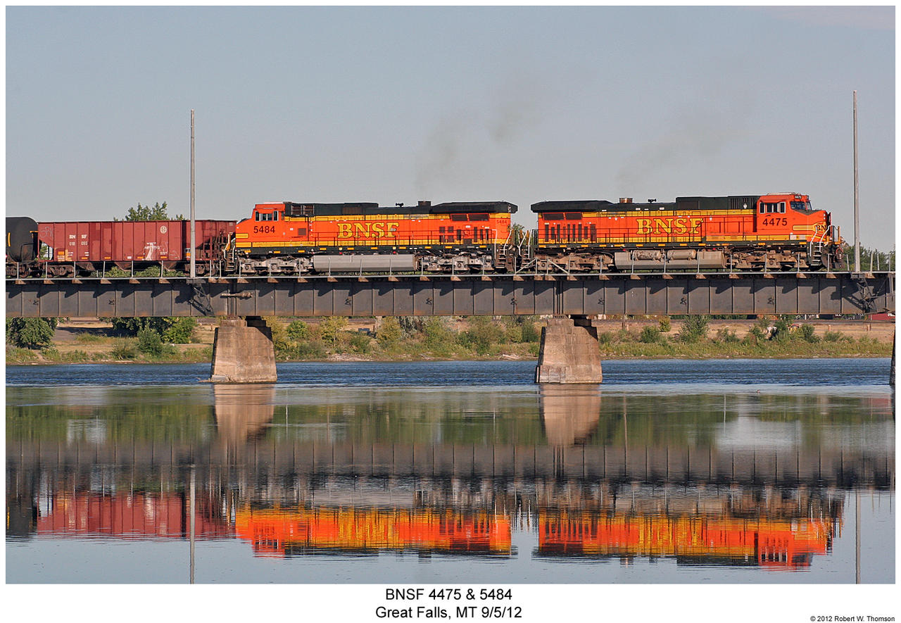 BNSF 4475 + 5484 by hunter1828