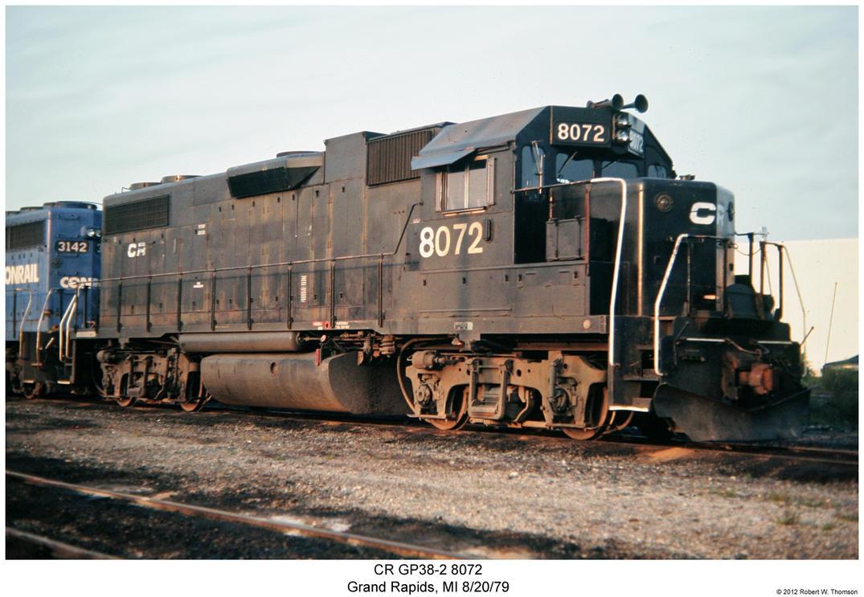 CR GP38-2 8072 by hunter1828