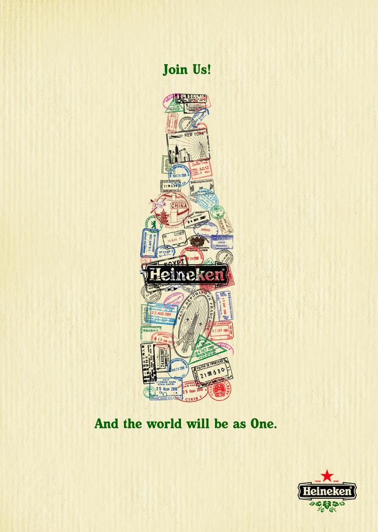 Heineken ads by thekingpham